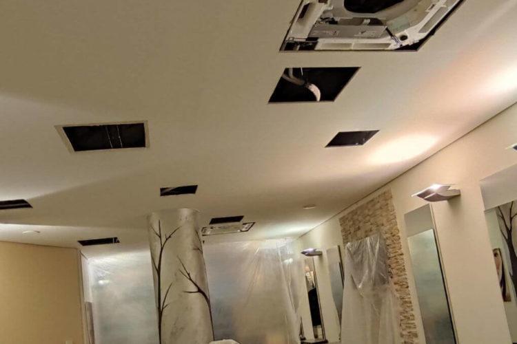 Neue Klimaanlage und Nanoe-X im Friseursalon Sylvia Schacht