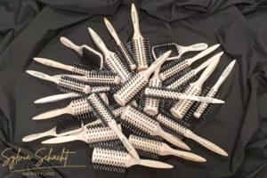 Brushes Haarbürsten im Friseursalon Sylvia Schacht