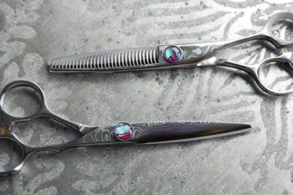 Südkoreanische Haarscheren für traditionelles Handwerk